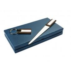 Dāvanu komplekts - Atslēgu piekariņš un papīra nazis Nr.105/2
