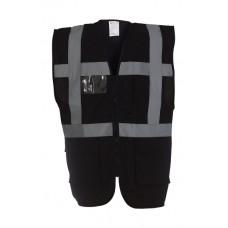 Melna drošības veste ar kabatām Nr.120/44m