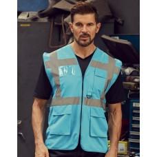 Zila drošības veste ar kabatām Nr.120/44z