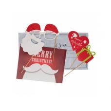 """Ziemassvētku apsveikuma kartīte Nr.165/52 (""""Selfie komplekts"""")"""