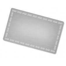 Alumīnija vizītkartes (10 gab. komplekts)  Nr.199/20