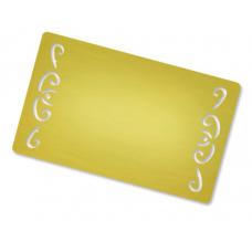Alumīnija vizītkartes (10 gab. komplekts)  Nr.199/32
