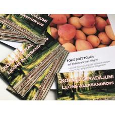 Vizītkartes ar folie soft touch pārklājumu /divpusēja druka Nr.203/10