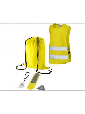 Drošības komplekts Nr. 226/8 (atstarotāji - 3 veidi, soma, veste)