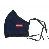 Sejas maskas ar karogu