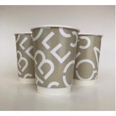 Papīra krūzes ar apdruku Nr.234/8 - 450 ml (divu slāņu)